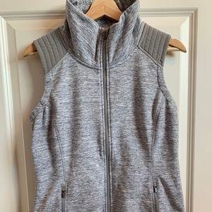 Heathered Gray Athleta Vest Size M